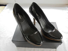 Sacha London Lackleder Plateau Pumps NP: 119€ w NEU High Heels Schuhe Gr. 39