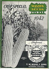 MB-103 - Wood's 1942 Seed Catalog Guide, Crop Special, Richmond, VA Illustrated