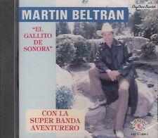 Martin Beltran El Gallito De Sonora Con La Super Banda Aventurero CD New