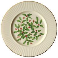 Lenox Hollyberry Enamel Holly Center Dinner Plate 305355