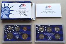 USA 2006 Proof Set S San Francisco PP polierte Platte mit State Quarters 1c-1$