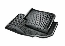 AUDI Q7 2017 2018 ALL SEASON RUBBER FLOOR MATS FRONT AND REAR COMBO  OEM