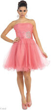 SALE !! COCKTAIL SHORT PROM HOMECOMING DANCE CRUISE DRESS UNDER $100 & PLUS SIZE