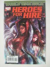 HEROES FOR HIRE #13 SANA TAKEDA BONDAGE COVER 2007 MARVEL COMICS