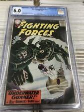 Our Fighting Forces #51 CGC 6.0 o/w DC War comic Joe Kubert Russ Heath