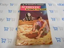 Authentic Science Fiction Monthly Pulp Magazine #70 (1956, British) Chad Oliver
