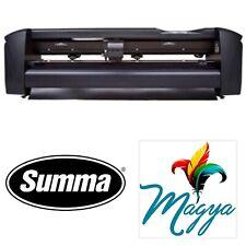 Summa 24 61 Cms Vinyl Cutter Plotter Sign Cutting Machine Withsoftware
