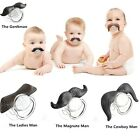 Teeth Mustache Baby Boy Girl Infant Pacifier Orthodontic Dummy Beard Nipples HK
