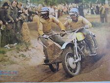 Centerfold Poster Yamaha #74 v Heugten / Steenbergen + Honda TLR200 Verhoeven