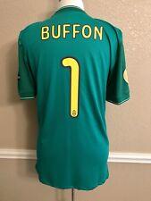 Italy Juventus Buffon Football Nike Shirt Player Issue Match Unworn Uefa Jersey