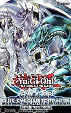 Yugioh Saga of Blue Eyes White Dragon (SDBE) Structure Deck (41 Cards) 1st