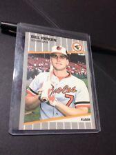 1989 Fleer Bill Ripken Baltimore Orioles #616E Baseball Card