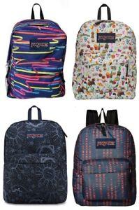 New Jansport Boys or Girls Superbreak Backpack Choose Color MSRP $35.99