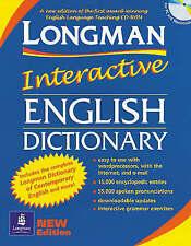 Longman Interactive English Dictionary: CD-Rom by Pearson Education, NEW