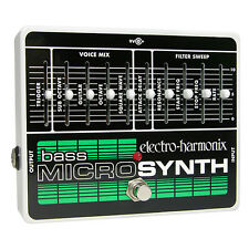 Electro-Harmonix Bass MicroSynthesizer Analog Microsynth Pedal