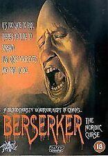 SLASHER Berserker DVD rare horror rare oop The Nordic Curse Viking slasher