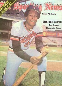 1974 Sporting News MINNESOTA TWINS Rod CAREW No Label FREE SHIP Swatter Supreme