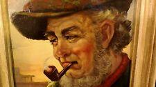 Original 1955 Fine Art Oil Painting -Ernest Beach Smith- MEMORIES, John Housman