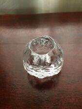 Kosta Boda, Snowball, Votive Candle Holder by Ann Warff Design