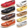 Womens Loafers Casual Ladies Moccasins Leather Comfortable Slip On Flat Shoes