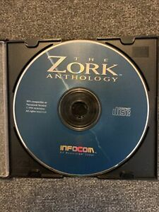 The Zork Anthology PC 1994 Video Game CD Text Adventure Activision Retro Puzzle