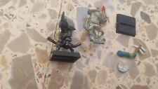 hombres lagarto warhammer fantasy 2 chamanes miniaturas 1a edición