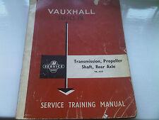 VAUXHALL VICTOR VX 4/90 FB Training Workshop Manual TRANSMISSION Prop Shaft Asse
