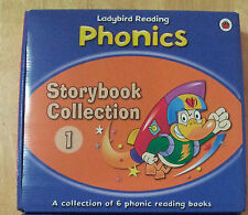 Ladybird Reading Phonics Collection Box 1 (6 books) Penguin Books H'back readers