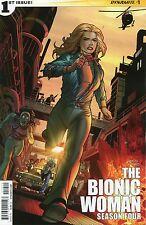 THE BIONIC WOMAN SEASON FOUR #1 - SEAN CHEN COVER - 2014
