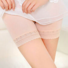 2018 Ladies Women Elastic Safety Lace Soft Under Shorts Pants Underwear Shorts