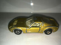 RARE VINTAGE Lesney Matchbox Series No.33 Lamborghini Miura Gold Rare Superfast