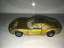 RARE VINTAGE Lesney Matchbox Series No.33 Lamborghini Miura Gold Rare Superfast
