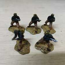 5pcs 1/72 Forces of Valor WWII Soldier Miniature for Tank Miltary Collection