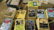 Pokemon TCG 500 CARD LOT: GUARANTEED 25 RARES & 25 HOLOS.x