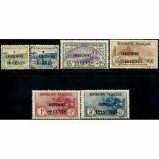 Lot A418 - Indochine - N°90/95 Colonies Françaises Neuf * Qualité TB