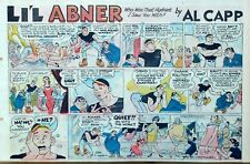 Li'l Abner by Frank Frazetta - large half-page color Sunday comic, Feb. 1, 1959