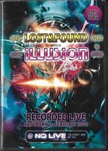 Lost & Found Vs Illusion RATPACK STU ALLAN OLDSKOOL RETRO