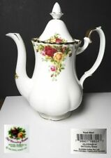Royal Albert OLD COUNTRY ROSES Large Size 5 Cup COFFEE POT, New w/Tags