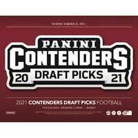 2021 Contenders Draft Picks Collegiate Football Hobby FACTORY SEALED HOBBY BOX