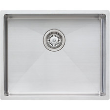 NEW Oliveri SPECTRA CS01SS square stainless steel kitchen/laundry sink RRP $921