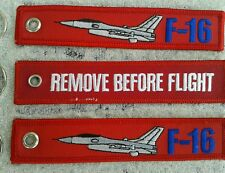 F-16 Falcon circolavano Remove Before Flight 3er Set/AVION/Aircraft/yakair