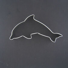 """DOLPHIN 4.5 """" METAL COOKIE CUTTER NAUTICAL BIRTHDAY PARTY FAVORS SUMMER THEME"""
