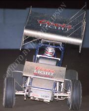 SPRINT CAR PHOTO WORLD OF OUTLAWS STEVE KINSER SAN JOSE RACEWAY 1987