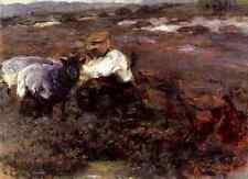Zugel Heinrich Johann Von Tending The Flock A3 Box Canvas