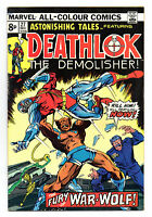 Astonishing Tales Vol 1 No 27 Dec 1974 (VFN-) Featuring Deathlok, Bronze Age