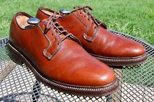 "BOSTONIAN ""Crown Windsor"" 5-Eyelet Plain Toe Derby / Blucher Sz.12 D/B RARE"