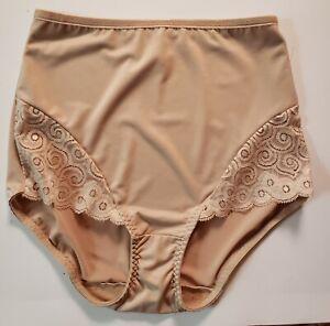 Bali Panty Shaper Large Beige Underwear Lingerie Nylon Spandex