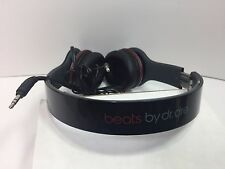 Used Original Monster Beats by Dr Dre Solo HD Headphones BLACK