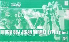 BANDAI HGUC 1/144 RGM-89J JEGAN NORMAL TYPE F91 Ver Plastic Model Kit Gundam F91