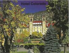 Postcard Colorado Glenwood Springs Historic Hotel Colorado Garfield County MINT